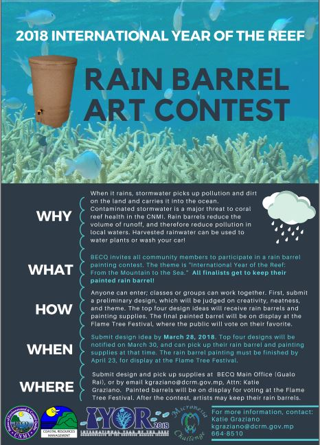 Rain barrel design deadline for eam art contest division of we have a lot of exciting events in store help us prepare for flame tree by submitting your design for the rain barrel art contest before march 28th stopboris Gallery
